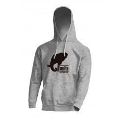 Sudadera Logo Basico gris